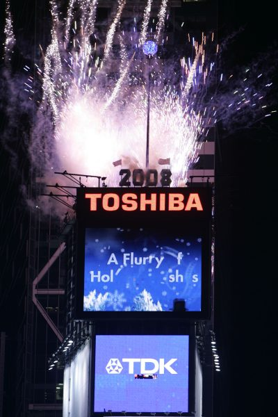 NEW YEAR'S EVE CELEBRATION IN TIMES SQUARE